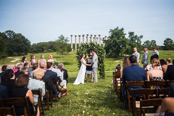 Wedding at Ellipse Meadow