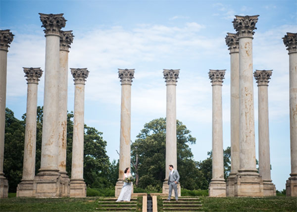 Wedding at Capitol Columns