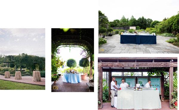 Cocktail Reception at Herb Garden